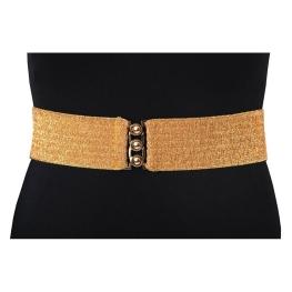 Cinturón elástico Oro