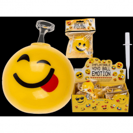 Pelota Emoticono hinchable 40 cm
