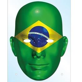 Careta carton pais brasil