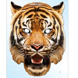 Careta Carton Tigre-