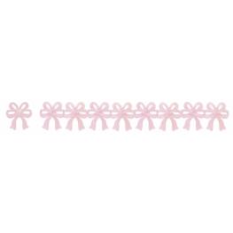 Guirnalda lazos rosa