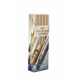 Rollo papel kraft  3 m Oro