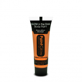 Maquillaje Glow In The Dark Naranja 10Ml