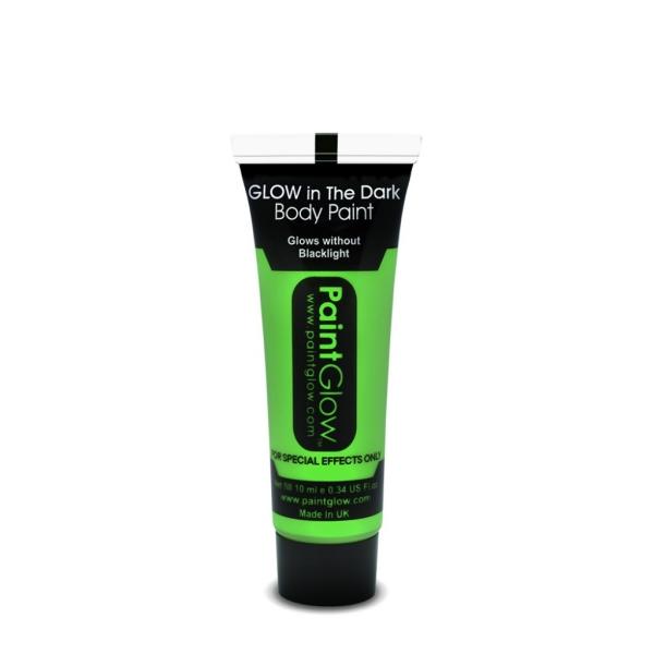 Maquillaje Glow In The Dark Verde 10Ml