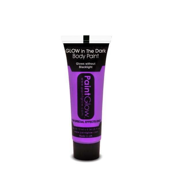 Maquillaje Glow In The Dark Violeta 10Ml