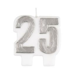 Vela nº25 plata