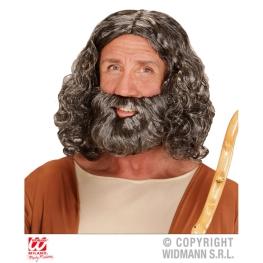 Peluca y Barba Bíblica