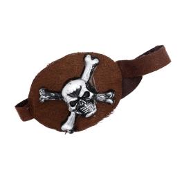 Parche Pirata tela con relieve