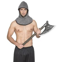 Cota malla guerrero medieval