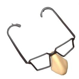 Nariz con gafas