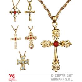 Colgante con cruz  ( 6 modelos)