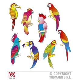 Pájaro tropical 45 cm (8 modelos)