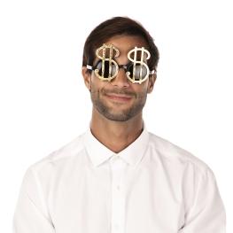 Gafas con forma de dólar