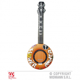 Banjo inflable naranja 100 cm