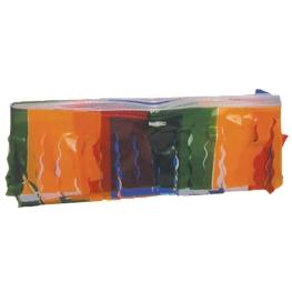 Fleco plástico multicolor  25 m