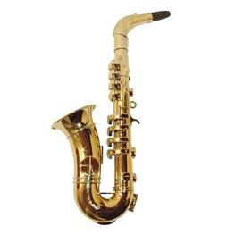 Saxofón 8 notas oro
