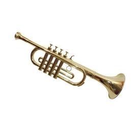 Trompeta 4 notas oro
