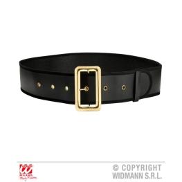 Cinturon hebilla dorada semipiel 150x9cm
