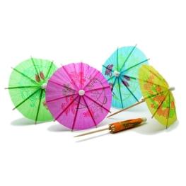 Paquete sombrillas parasol