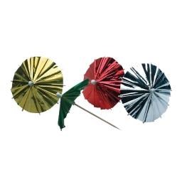 Paquete sombrillas con  parasol