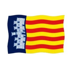 Bandera Mallorca 200x120 cm