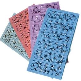 Paquete bingo 600 hojas