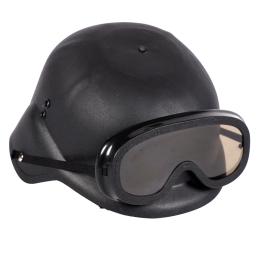 Casco Swat con gafas