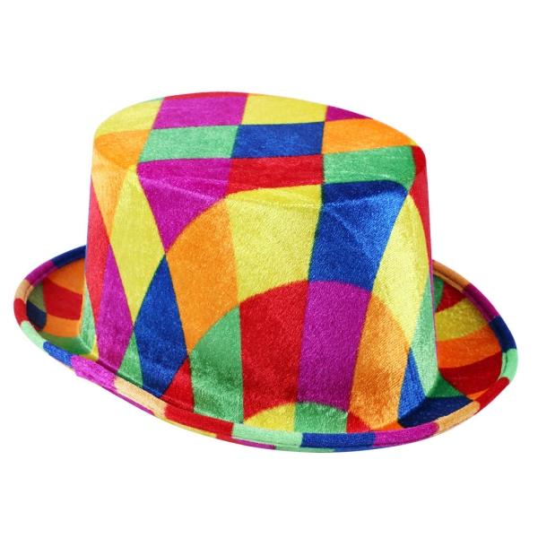 Sombrero Arlequin 13X24X29 Cm.