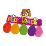 Blister globos + cartel felicidades