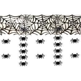 Decoración techo arañas