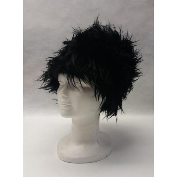 Gorro ruso (pelo largo negro)