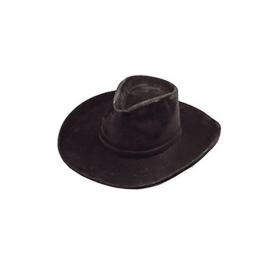 Sombrero vaquero flocado adulto