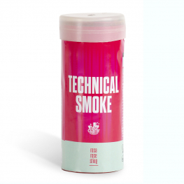 Humo técnico rosa