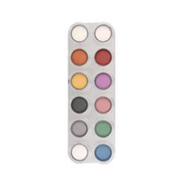 Sombra-colorete P1 paleta 12 x 2,5 ml