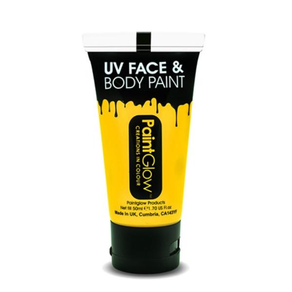 Maq. facial-corporal UV agua amarillo 50 ml