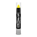 Barra cera UV neón amarillo 3, 5 gr