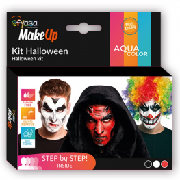 Kit Halloween 3 colores al agua 3 x 2 gr