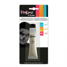Maquillaje crema glow in the dark tubo 28 ml