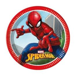 Plato spiderman 23cm 8 udes