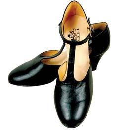 Sandalia baile señora negro (Talla 34 a 42)