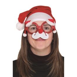Gafas Navidad con bigote