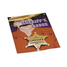 Estrella metálica Sheriff