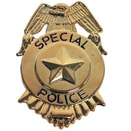Placa Policía
