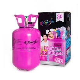 """Bombona helio 9,5"""" para 30 globos"""