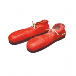 Zapatos payaso goma Adulto Talla única