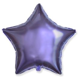 Globo estrella helio 46cm  lila