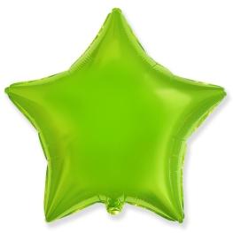 Globo estrella helio 46cm  lima