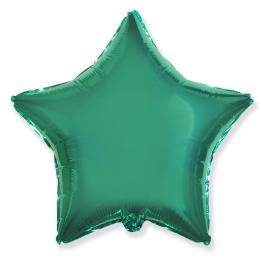 Globo estrella helio 46cm  turquesa