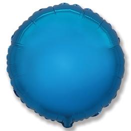 Globo redondo helio 46cm  azul