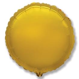 Globo redondo helio 46cm  oro